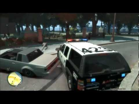 GTA IV LCPD: First Response Police Mod Gameplay (19) HARDCORE MODE!