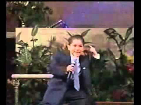 ¡El Hijo De Josue Yrion! (El Niño Predicador)