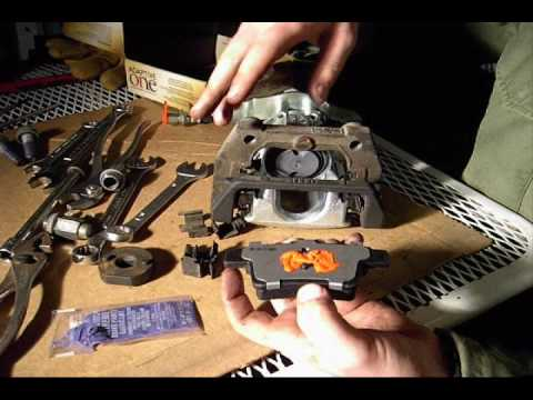 how to change rear brake pads on ford kuga