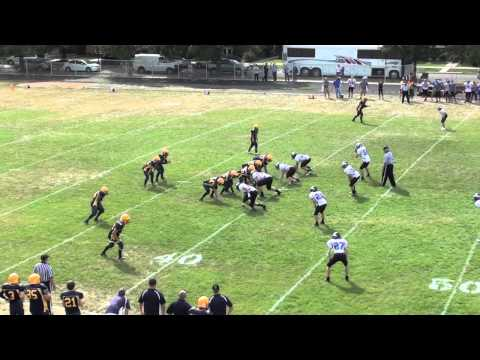 Matt Moore #50 Luther North College Prep Football - 01/06/2014