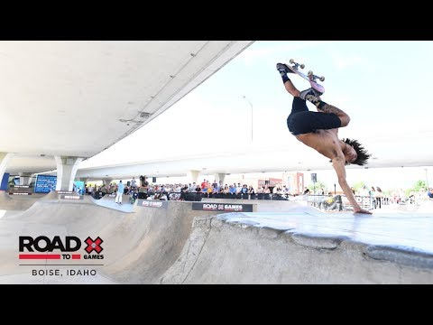 REPLAY: Men's Skateboard Park | Road to X Games Boise Park Qualifier 2019