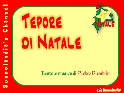 TEPORE DI NATALE – Canzoni di Natale per bambini di Pietro Diambrinii_natale_video.wmv