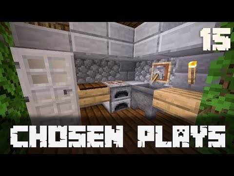 Chosen Plays Minecraft 1.13 Ep. 15 Trying To Decorate My House
