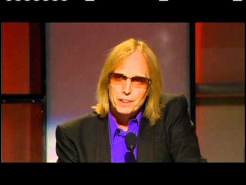 Tom Petty and Jeff Lynne induct George Harrison Rock and Roll Hall of Fame inductions 2004