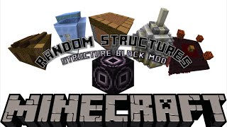 Randomly Generating Structures | Minecraft 1.10 Structure Mod