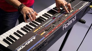 The Roland Juno 106 In Action