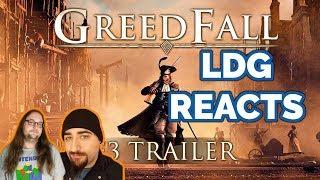 Greedfall E3 2018 Trailer | Reaction