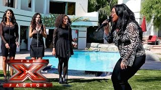 Lauren Murray fights for her place with Jess Glynne song  | Judges Houses | The X Factor 2015