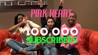 PINK HEART CELEBRATES 100,000 Subscribers With NEW Q&A