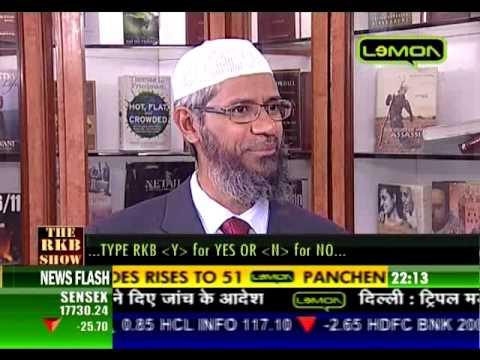 Dr. Zakir Naik Excellent Interview on Lemon T.V part 3----HD QUALITY