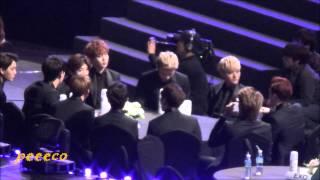 140212 The 3rd Gaon Awards - EXO - SNSD Winning Award