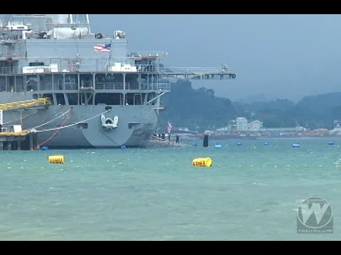 USS Topeka in Subic Bay for its routine Indo Asia-Pacific deployment