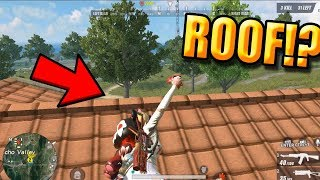 """BEST TRICK TO KILL ENEMY """"ROOF TRICK"""" (Rules of Survival: Battle Royale)"""