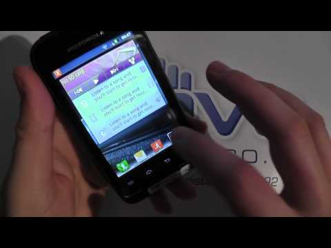 Motorola DEFY MINI Hands On (2)