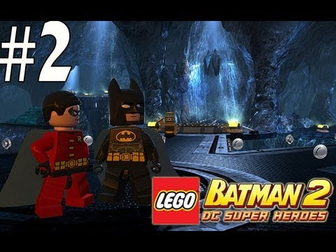 Lego Batman 2 - Walkthrough Part 2 Stop the Joker