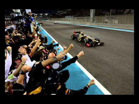 Kimi Räikkönen funny team radio - Abu Dhabi 2012