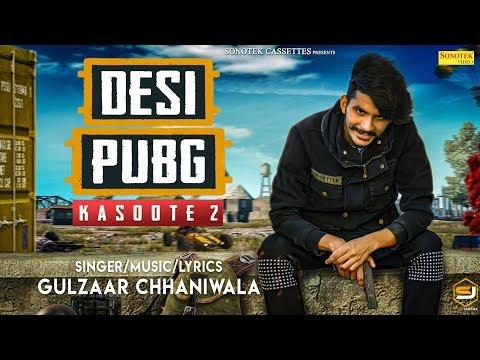 Desi Pubg | Gulzaar Chhaniwala | Motion Poster | Latest Haryanvi Songs Haryanavi 2019 thumbnail