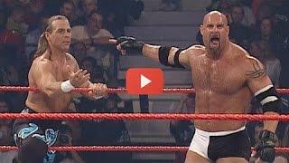 WWE Goldberg vs Shawn Michaels World Heavyweight Championship Full Lenght Match