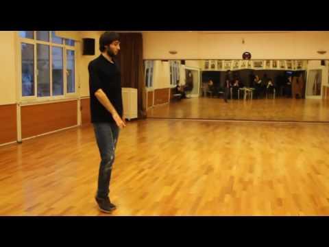 Kafkas Dans öğrenme Ceug Qafe 1 - Circassia Dance