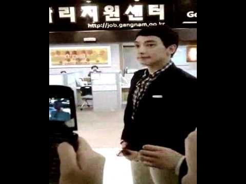[Rain (Bi) Fancam]110504 Rain @ Gangnam-gu honorary ambassador presentation