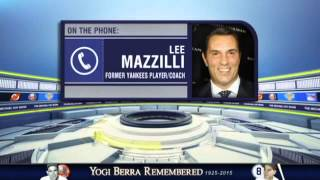 Lee Mazzilli shares his memories of Yogi Berra