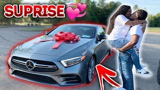 SURPRISING MY FIANCE WITH HER DREAM CAR! **VERY EMOTIONAL**