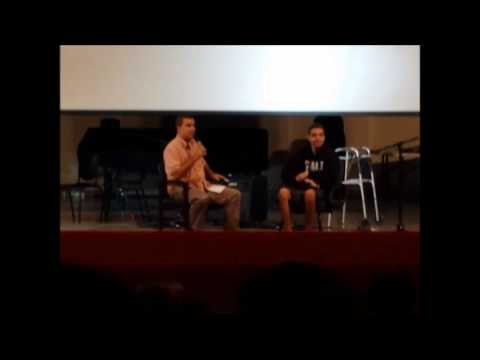 Caleb testimony at Forest Lake Academy on 2/21/2014 (version mobile).
