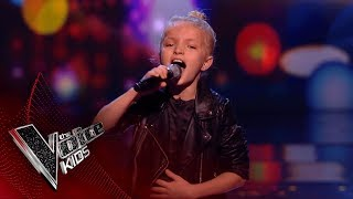 Download Lagu Lilia Performs 'Flashlight': Blinds 1 | The Voice Kids UK 2018 Gratis STAFABAND