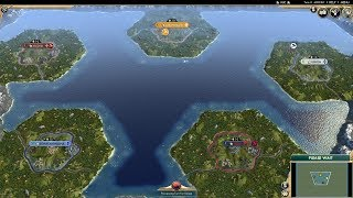 Civ 5 AI Only Timelapse: Lost in the Ocean