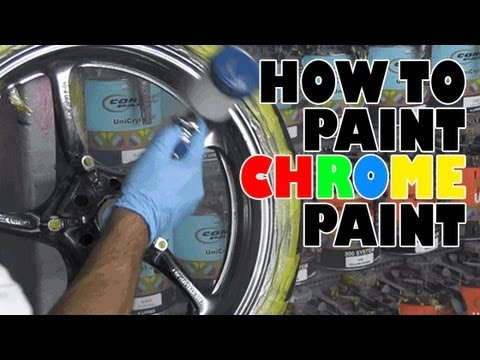 How to paint Alsa brand chrome paint