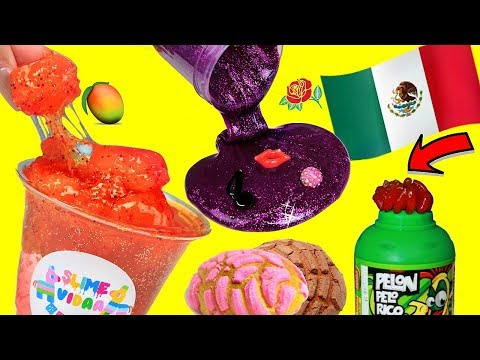 MEXICAN SLIME SHOP REVIEW! Underrated Instagram Slime Shop Review! Slime Package Unboxing