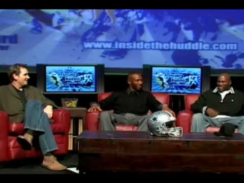 "Visit us at http://www.InsideTheHuddle.com now! (Belding, Terrell Owens, Tony Romo) The unique and new 2007 ""Inside the Huddle"" show co-hosted by Dallas Cowb..."
