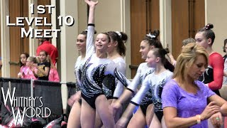 Whitney Bjerken | 1st Level 10 Gymnastics Competition