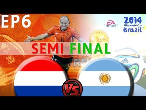 [TTB] 2014 FIFA World Cup Brazil - Netherlands Vs Argentina - SEMI FINAL - Ep6