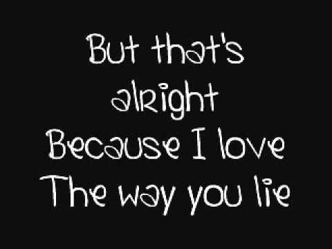 love the way you lie by rihanna ft eminem lyrics youtube