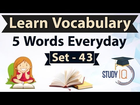 Daily Vocabulary - Learn 5 Important English Words in Hindi every day - Set 43 Wild Goose Chase