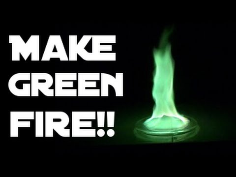 How To Make Green Fire!