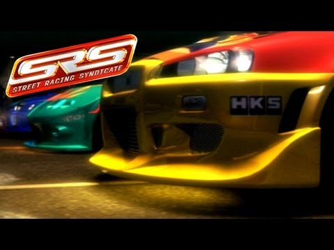 SRS - Street Racing Syndicate HD [PS2] - Intro & Gameplay