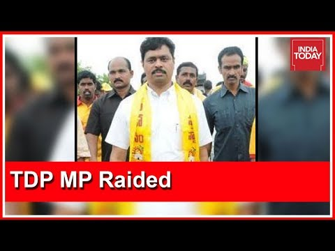Andhra CM Chandrababu Naidu's Aide Raided By Income Tax Dept