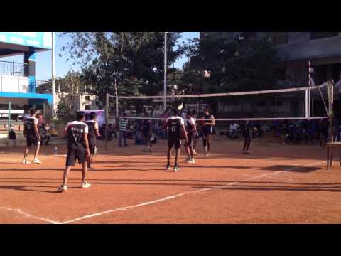 Thomson Reuters V/S Wipro Chennai The Final Battle in VIL Events Men's volley ball Tournament