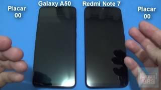 🔘 Speedtest - Samsung Galaxy A50 vs Xiaomi Redmi Note 7