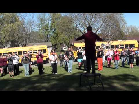 Charles City High School - Wake up with the band