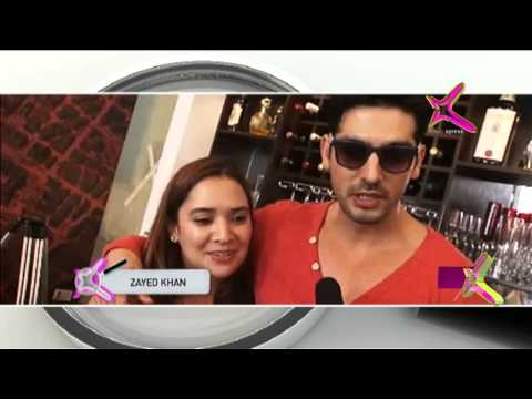 Zayed Khan celebrated his wife's birthday on the sets of his latest film - Desi Magic