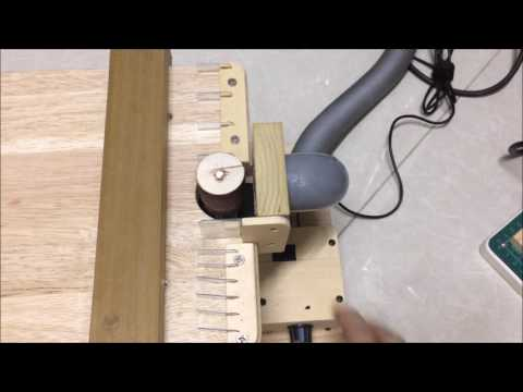 Homemade small Drum Sander review A17 0416
