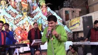 Live Jagran at Karnal    Singer: Sunny Doshi    Superhit Famous Bhajan Rang Barse