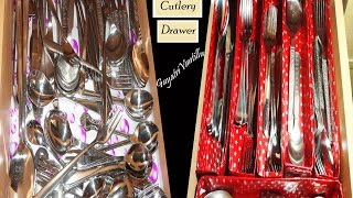 Cutlery Drawer - Home Organising - Gayatri Vantillu