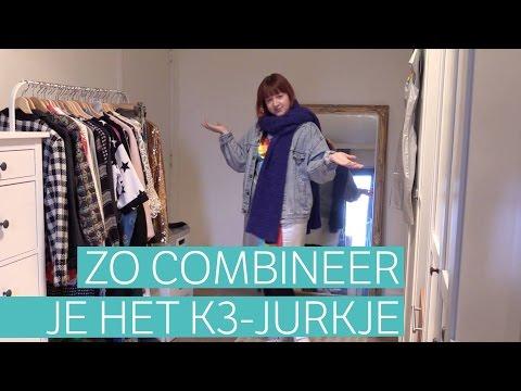 Hoe combineer je het K3-jurkje?
