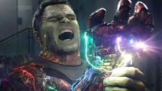 We Now Know Why Hulk Was Injured By The Infinity Gauntlet