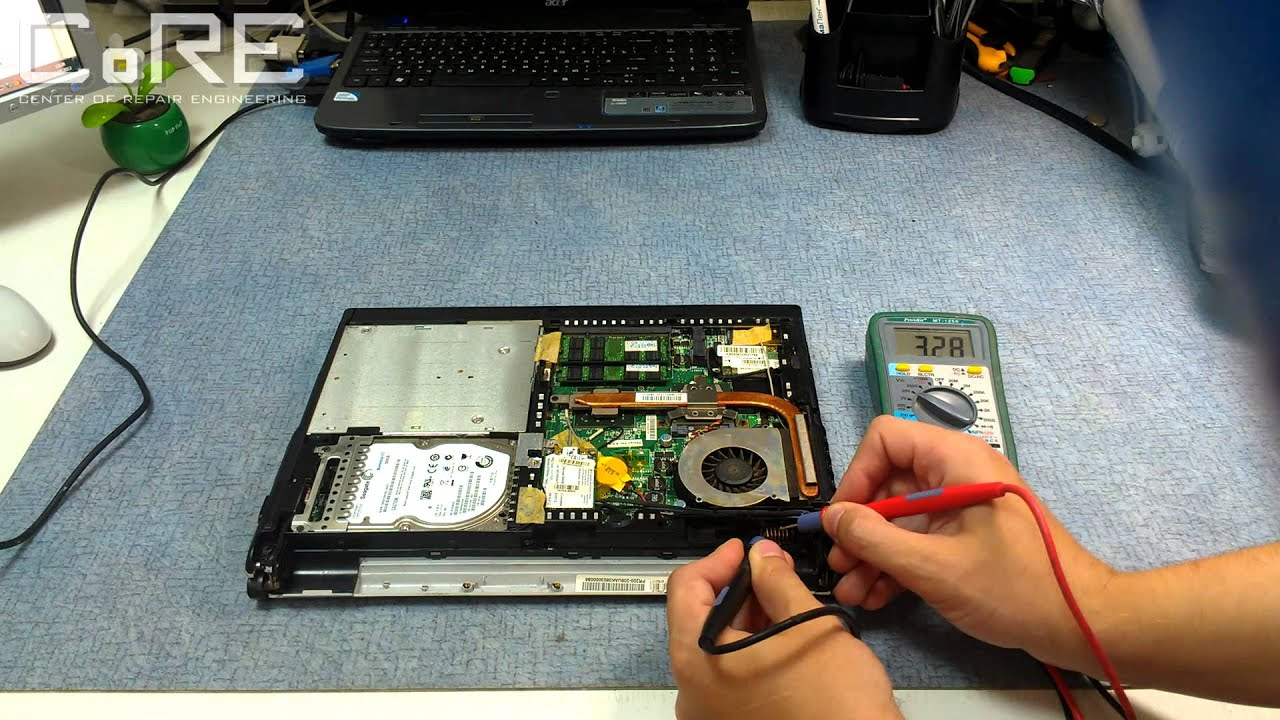 Замена разъёма питания ноутбука roverbook voyager своими руками