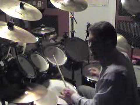 Drum Lesson - John Bonham Triplets, Van's Cool Drumming Tips Video